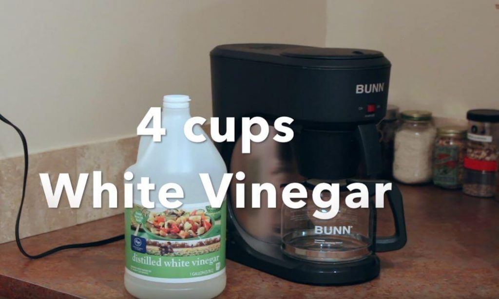 How to Clean Bunn Coffee Maker with Vinegar (Step by Step ...